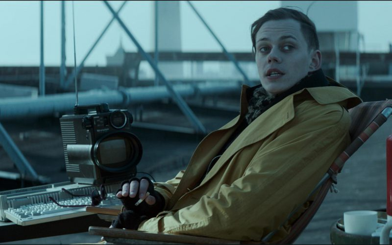 Sharp Portable TV Used by Bill Skarsgård in Atomic Blonde (1)