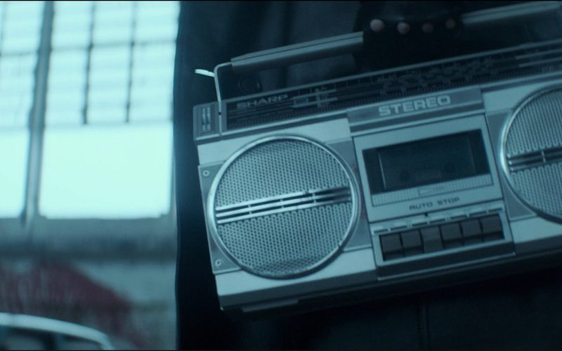 Sharp Stereo Music Player Used by Roland Møller in Atomic Blonde (1)