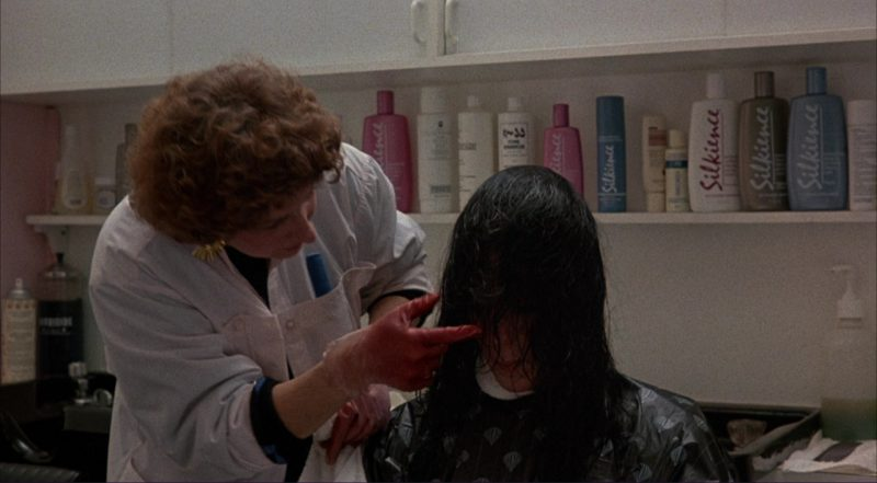 Silkience Hair Cosmetics in Moonstruck (1987) Movie Product Placement