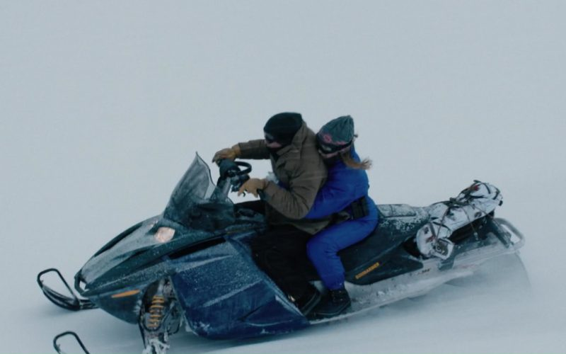 Ski-Doo Snowmobile in Wind River (1)