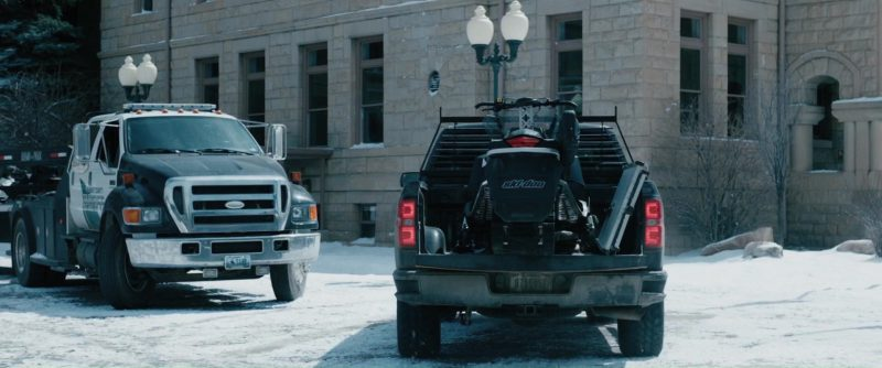 Ski Doo Snowmobile Used By Jeremy Renner In Wind River