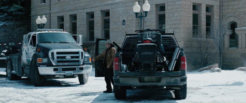 Ski-Doo Snowmobile Used by Jeremy Renner in Wind River (2017) Movie Product Placement