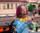 Slurpee frozen carbonated beverage in Gucci Gang by Lil Pump (2017) 1