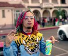 Slurpee frozen carbonated beverage in Gucci Gang by Lil Pump (2017) 2