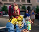 Slurpee frozen carbonated beverage in Gucci Gang by Lil Pump (2017) 4
