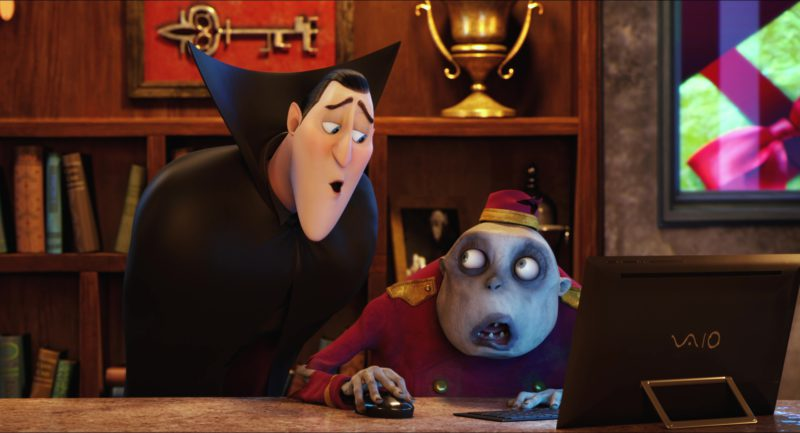 Sony VAIO Tablet Computer in Hotel Transylvania 2 (2015) Animation Movie Product Placement