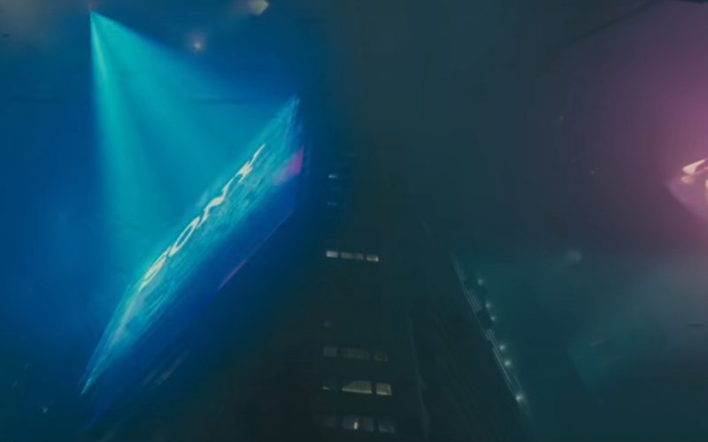Sony in Blade Runner 2049