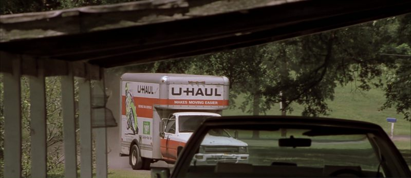 U-Haul Truck in Monster's Ball (2001) Movie Product Placement