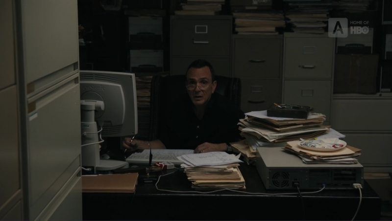 ViewSonic Monitor Used by Hank Azaria (Frank DiPascali) in The Wizard of Lies (2017) Movie Product Placement