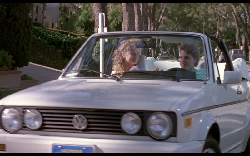 Volkswagen Golf Cabrio Car in License to Drive (1)