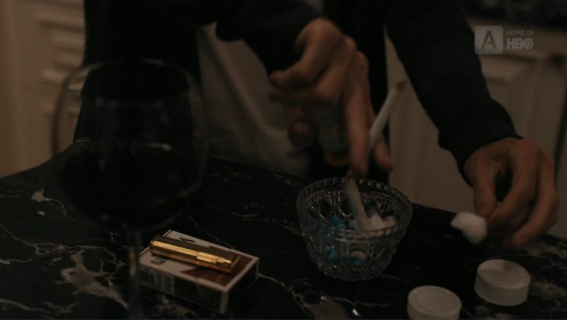 Yellow Marlboro Cigarettes In The Wizard of Lies (2017) Movie Product Placement