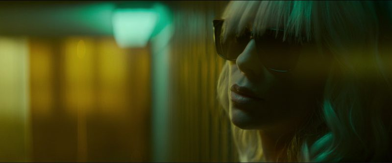 Yves Saint Laurent SL 138 Slim Sunglasses Worn by Charlize Theron in Atomic Blonde (2017) - Movie Product Placement