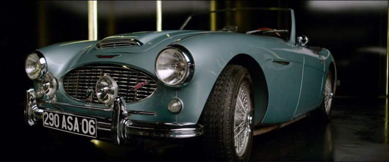 1959 Austin-Healey 3000 in Overdrive (2017) - Movie Product Placement