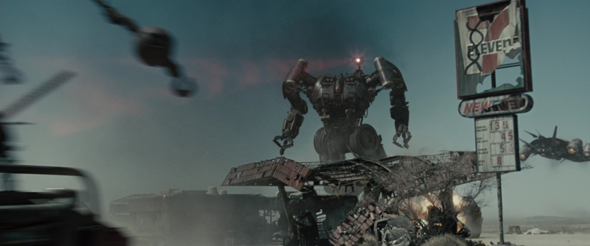 7eleven store and gas station in terminator salvation