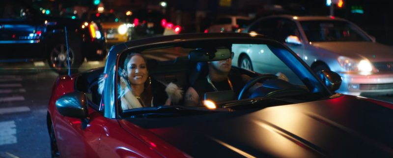 Abarth Red Car (Convertible) in Amor, Amor, Amor by Jennifer Lopez ft. Wisin (2017) - Official Music Video Product Placement