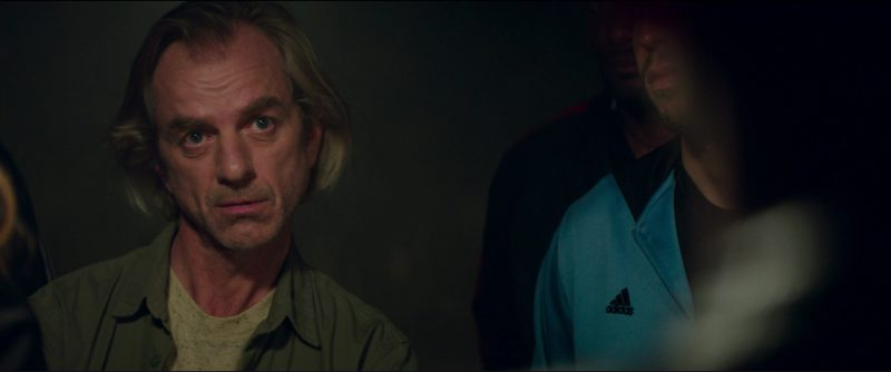 Adidas Jackets in Overdrive (2017) Movie Product Placement