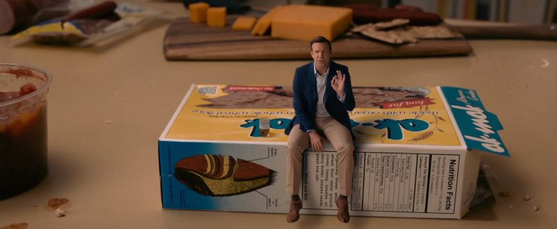 Ak-Mak Crackers in Downsizing (2017) - Movie Product Placement