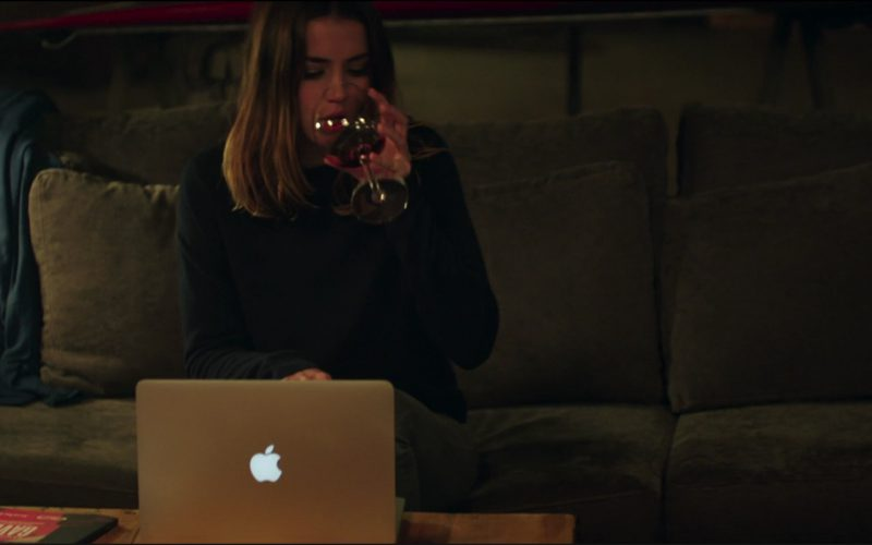 Apple MacBook Laptop Used by Ana de Armas in Overdrive