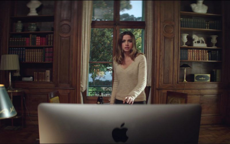 Apple iMac Computer Used by Ana de Armas in Overdrive (1)