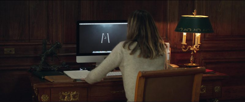 Apple iMac Computer Used by Ana de Armas in Overdrive (2017) Movie Product Placement
