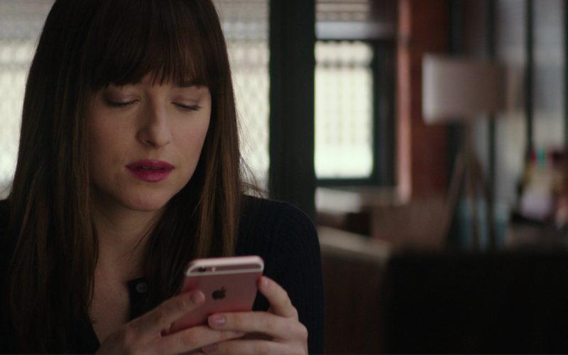 Apple iPhone 6-6S (Rose Gold) Smartphone Used by Dakota Johnson in Fifty Shades Darker (2)