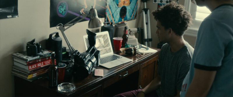 Apple iPhone, MacBook Laptop and Sony Video Camera Used by Jorge Lendeborg Jr. in Brigsby Bear (2017) Movie Product Placement