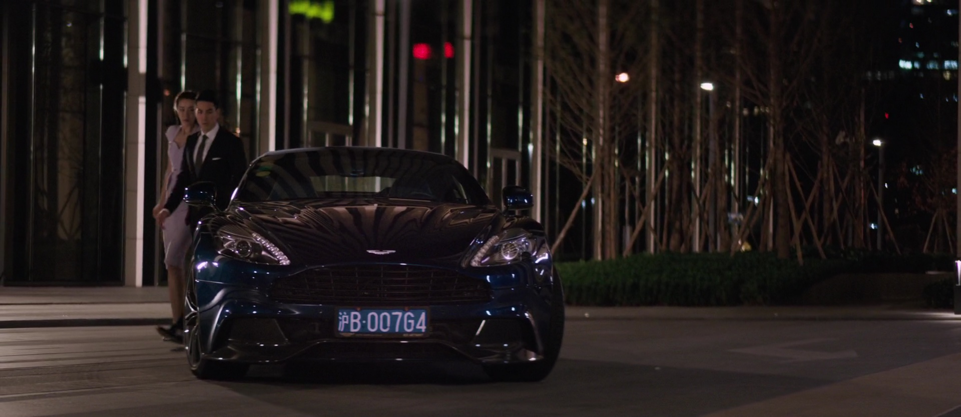 Aston Martin Car In S.M.A.R.T. Chase (2017) Movie Product Placement