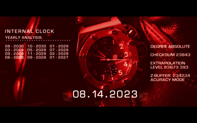 Audemars Piguet Watch in Terminator 3 Rise of the Machines (1)