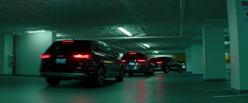 Audi Q7 Black Cars (SUVs) Used by Jamie Dornan and Dakota Johnson in Fifty Shades Darker (2017) - Movie Product Placement