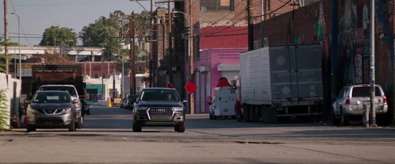 Audi Q7 SUVs Used by Jamie Dornan and Dakota Johnson in Fifty Shades Freed (2018) - Movie Product Placement
