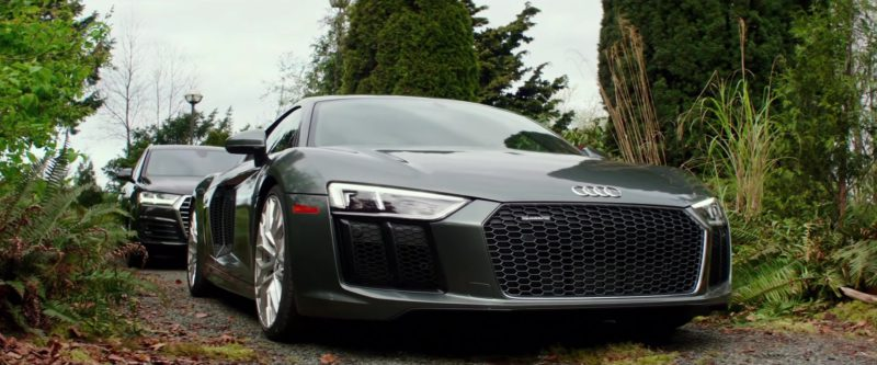 Audi R8 Sports Car Used by Jamie Dornan and Dakota Johnson in Fifty Shades Freed (2018) - Movie Product Placement