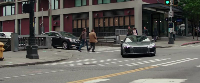 Audi R8 Sports Car Used by Jamie Dornan and Dakota Johnson in Fifty Shades Freed (2018) Movie Product Placement