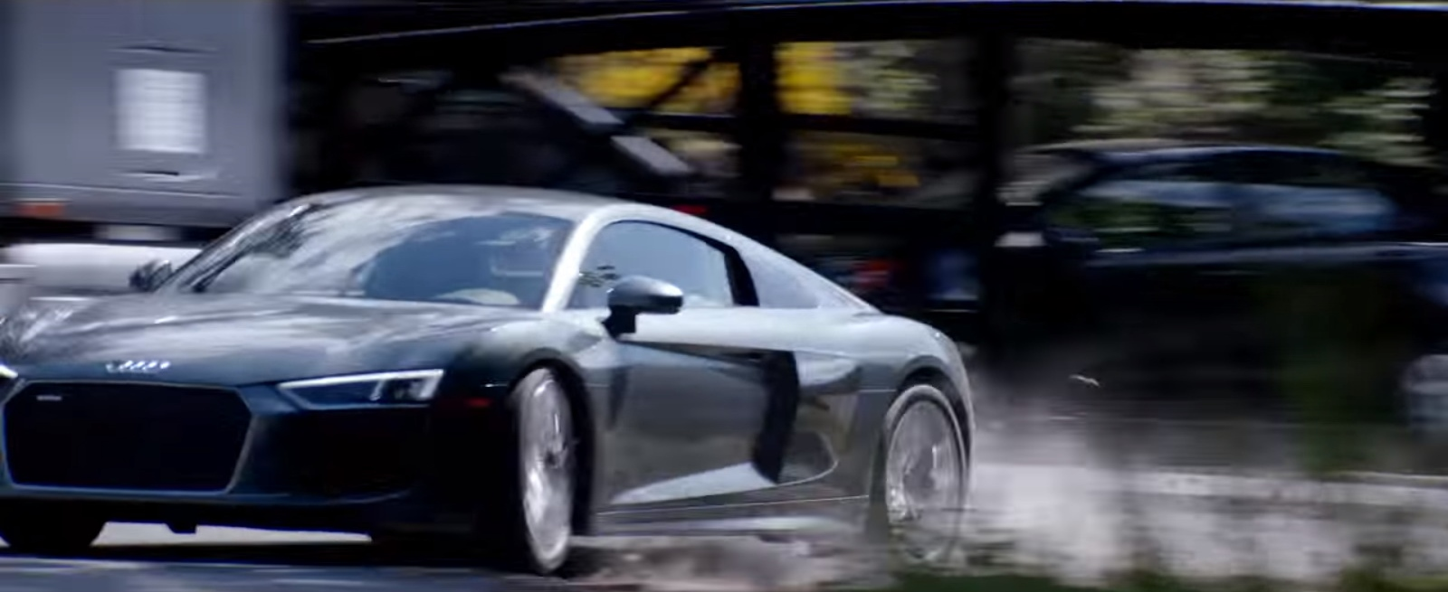 Audi R Sports Car In Fifty Shades Freed Movie Scenes - Audi car 50 shades freed