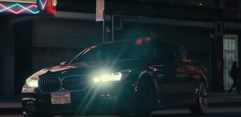 BMW 5-Series Car in Roman J. Israel, Esq. (2017) Movie Product Placement