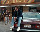 BMW 733i Car Driven by Joe Keery (Steve Harrington) in Stran...