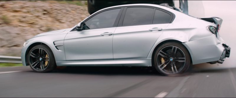 BMW M3 [F80] Car Driven by Alex Pettyfer in Overdrive (2017) - Movie Product Placement