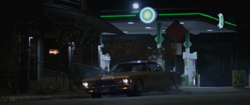 BP Petrol Station in Hangman (2017) - Movie Product Placement