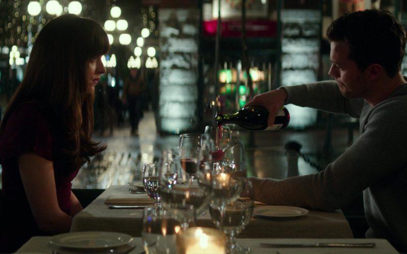 Barossa Valley Estate Wine Drunk by Dakota Johnson (Anastasia Steele) and James Dornan (Christian Grey). in Fifty Shades Darker (5)