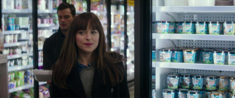 Ben & Jerry's Vanilla Ice Cream in Fifty Shades Darker (2017) Movie Product Placement