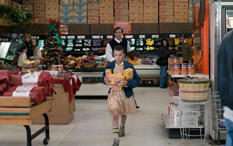 Bruce's Yam's and Eggo Waffles in Stranger Things