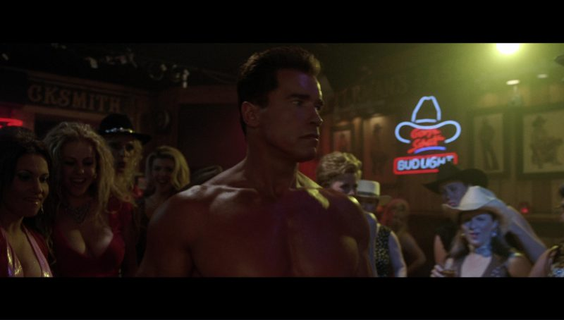 Bud Light Beer Neon Sign in Terminator 3: Rise of the Machines (2003) - Movie Product Placement
