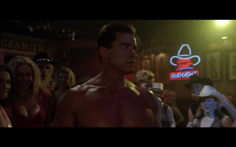 Bud Light Beer Neon Sign in Terminator 3 Rise of the Machines (2003)
