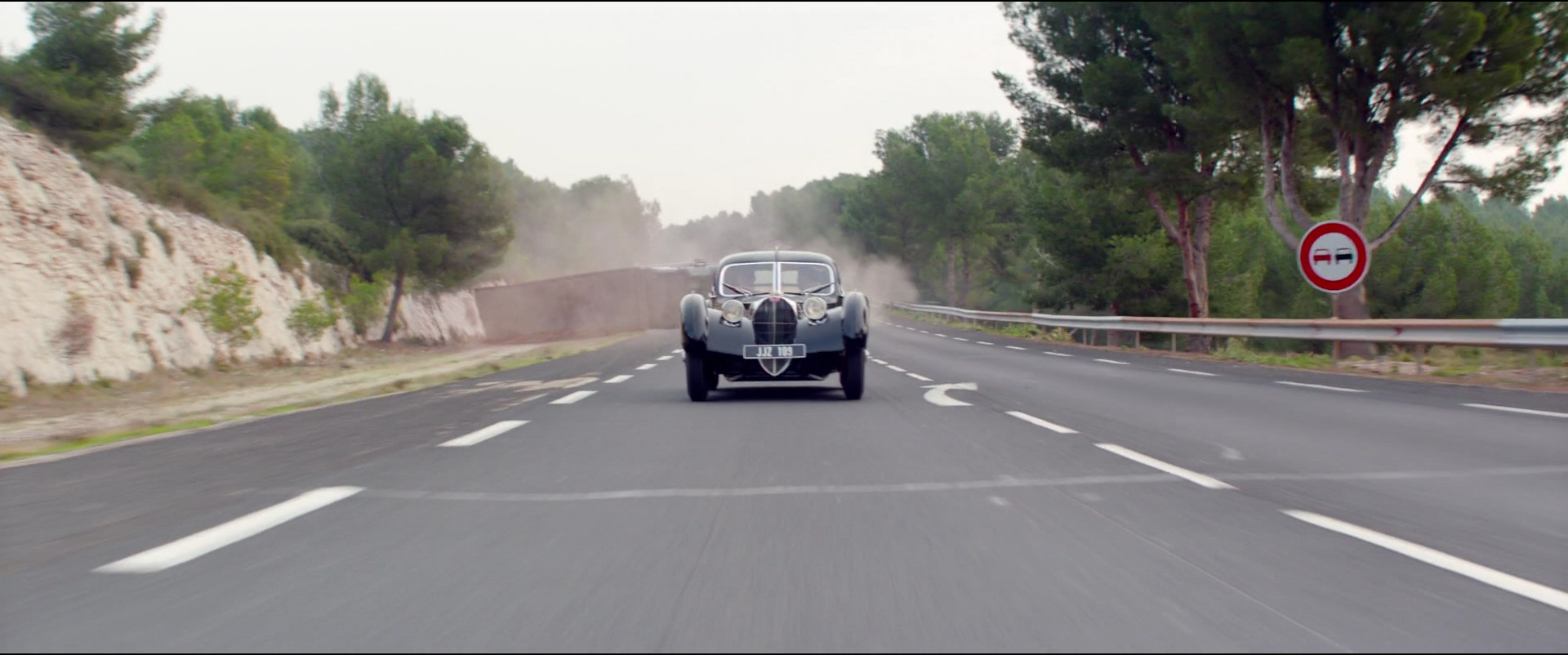 Exotic Car Brands >> Bugatti Type 57 S Atlantic Car in Overdrive (2017) Movie