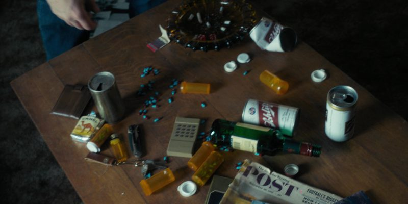 Camel, Schlitz and Jameson in Stranger Things: The Flea and the Acrobat (2016) - TV Show Product Placement