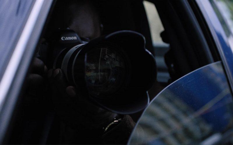 Canon Photo Camera in Death Note (2017)
