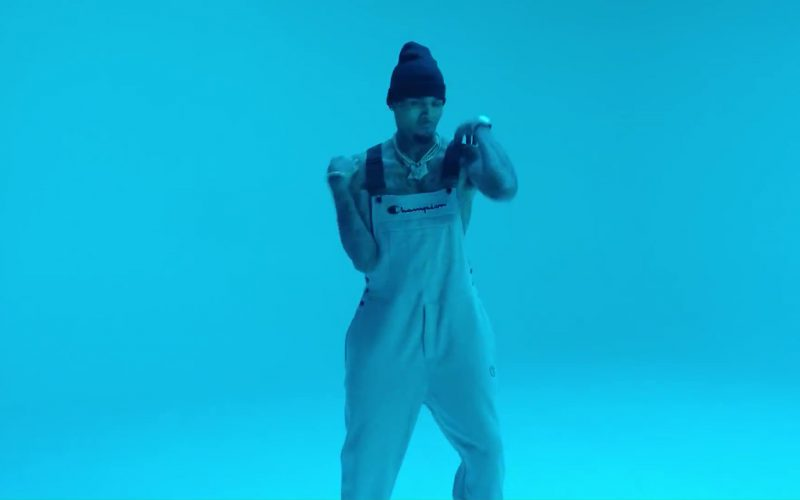 Champion Men's Overalls (White) in Flipmode by Fabolous, Velous, Chris Brown (1)