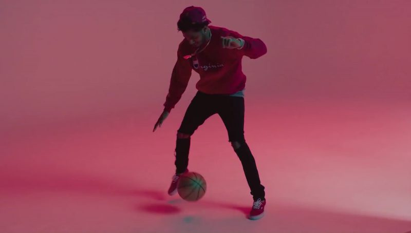 Champion Sweatshirt in Flipmode by Fabolous, Velous, Chris Brown (2017) - Official Music Video Product Placement