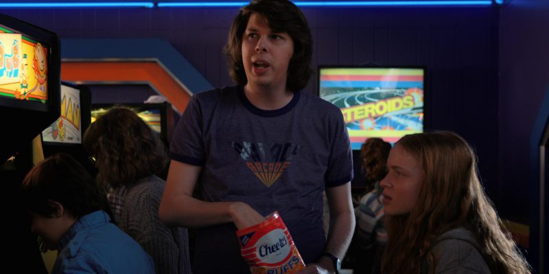 Cheetos in Stranger Things: Dig Dug (2017) - TV Show Product Placement