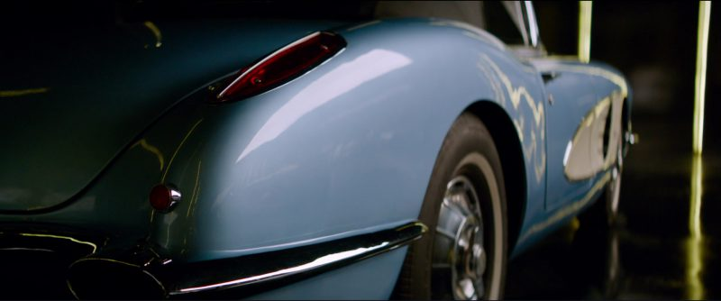 Chevrolet Corvette C1 Car in Overdrive (2017) Movie Product Placement