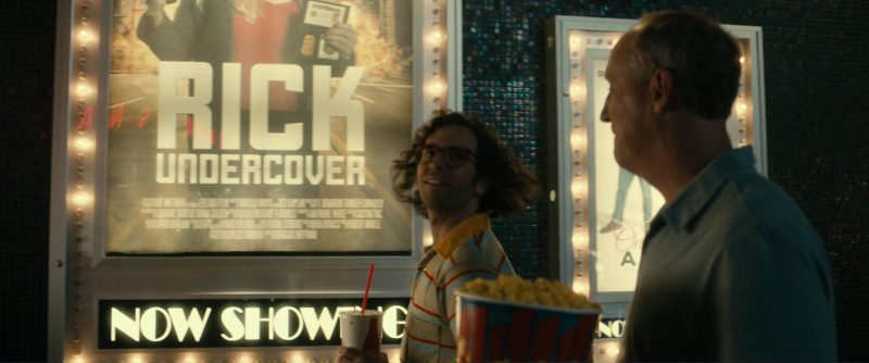 Coca-Cola Paper Cup and Kyle Mooney in Brigsby Bear (2017) - Movie Product Placement